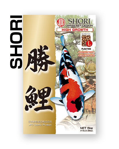 Koi Carp Feed JPD SHORI, 4.0 mm